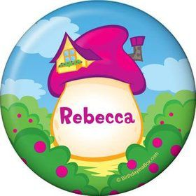 Village Friends Personalized Button (each)