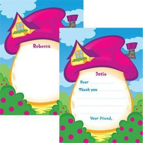 Village Friends Personalized Thank You Note (each)