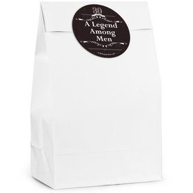 Vintage Dude 30 Personalized Favor Bags (12 Pack)