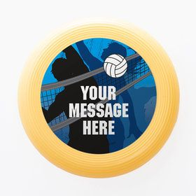 Volleyball Personalized Mini Discs (Set of 12)
