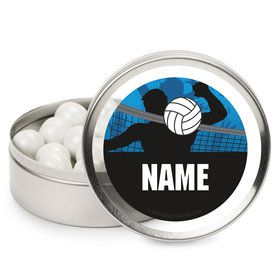 Volleyball Personalized Mint Tins (12 Pack)