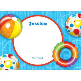 Water Fun Personalized Thank You (Each)