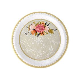 Wedding Gown Dessert Plate (8)