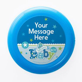 Welcome Baby Boy Personalized Mini Discs (Set of 12)