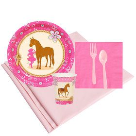 Western Cowgirl Party Party Pack (8)