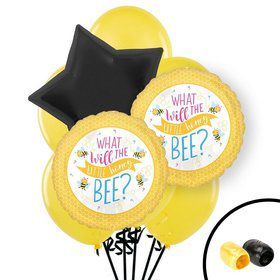 What Will It Bee Gender Reveal Balloon Bouquet