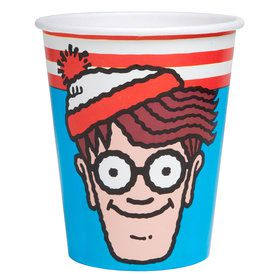 Where's Waldo 9oz Cups (8)