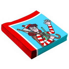 Where's Waldo Lunch Napkins (16)