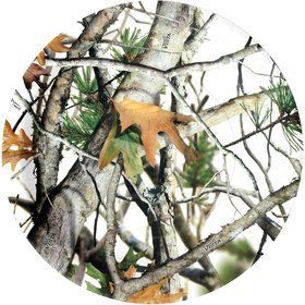 "White Camo 9"" Luncheon Plates (8 Pack)"