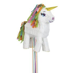 White Unicorn Pinata (1)