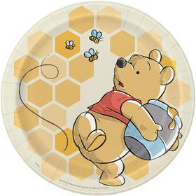"Winnie the Pooh 9"" Lunch Plates (8)"