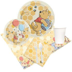 Winnie the Pooh Party Pack for 8