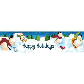 Winter Fun Personalized Banner (Each)