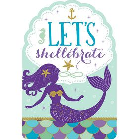Wishful Mermaid Invitations (8)