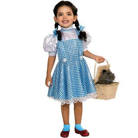 Wizard Of Oz Dorothy Sequin Girl Costume