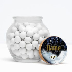 "Wizard Personalized 3"" Glass Sphere Jars (Set of 12)"
