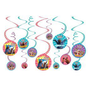 Wonder Park Swirl Decoration Value Pack (12ct)