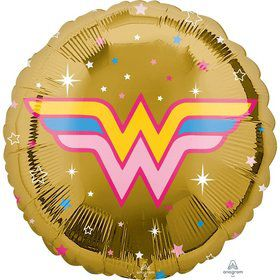 "Wonder Woman 17"" Foil Balloon"