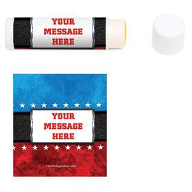 Wrestling Party Personalized Lip Balm (12 Pack)