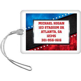 Wrestling Party Personalized Luggage Tag (each)