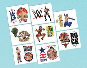 "WWE 2"" Tattoo Sheet (1)"