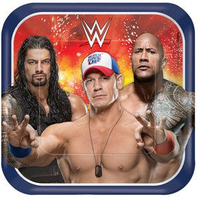 "WWE 9"" Luncheon Plates (8 Pack)"