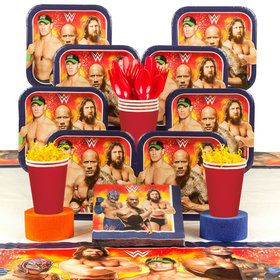 WWE Party Deluxe Tableware Kit (Serves 8)