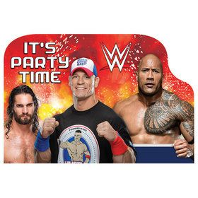 WWE Invitations (8 Pack)