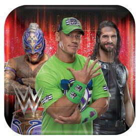 WWE Lunch Plates (8)