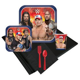 WWE Never Give Up 24 Guest Party Pack