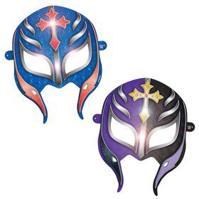 "WWE Paper 6"" Party Masks (8 Pack)"
