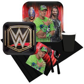 WWE Party Pack for 8
