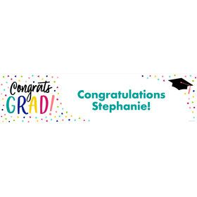 Yay Grad Personalized Banner (Each)