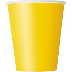 Yellow 9oz Cups (14 Count)