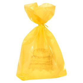 Yellow Treat Bags