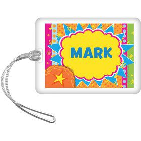 Yo Yo Dance Party Personalized Bag Tag (Each)