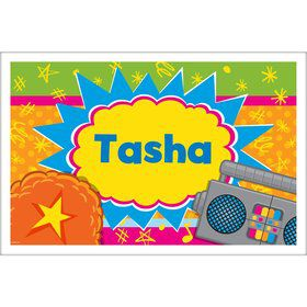 Yo Yo Dance Party Personalized Placemat (Each)