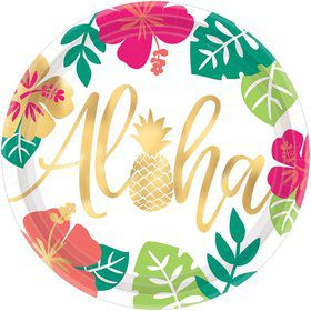 "You had me at Aloha Pineapple 10"" Lunch Plate (8)"