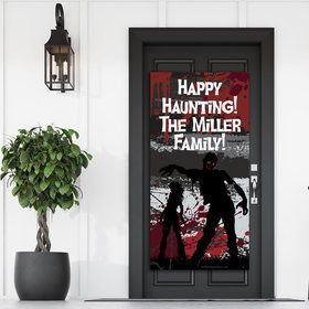 Zombie Personalized Giant Banner (30x60)