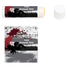 Zombie Personalized Lip Balm (12 Pack)