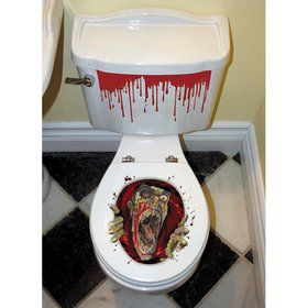 Zombie Toilet Seat Grabber Decoration