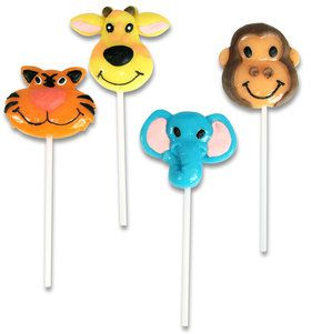 Zoo Animal Lollipops