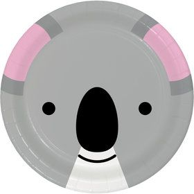Zoo Animals Koala Dessert Plates (8)