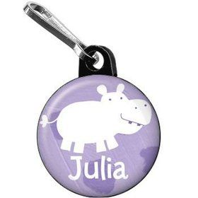 Zoo Babies Party Personalized Mini Zipper Pull (each)