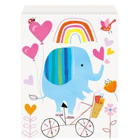 Zoo Baby Shower Favor Bags (8)